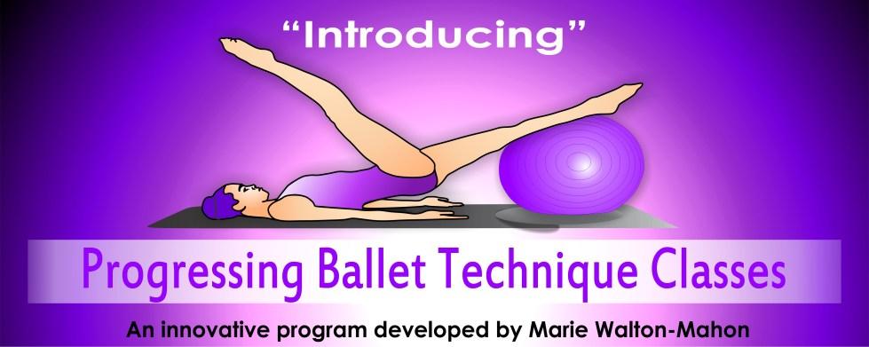 progressing ballet technique classes
